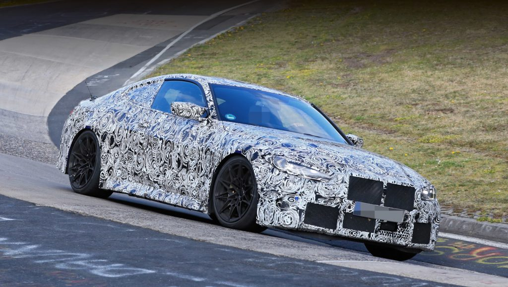 BMW M4 spy photo